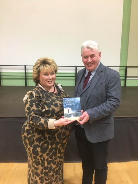 The Lord Lieutenant with Fintan Mullan, Director of the Ulster Historical Foundation.